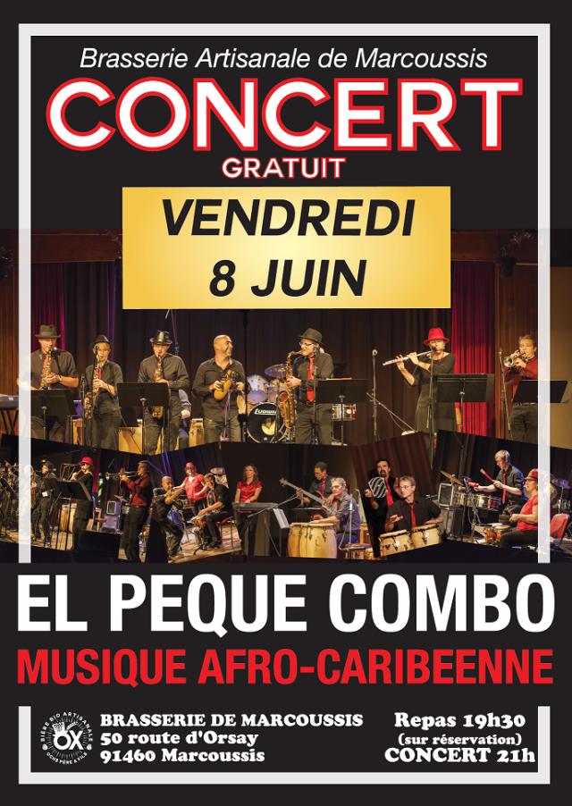 CONCERT 8 juin 2018 EL PEQUE COMBO